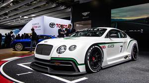 Bentley Continental GT3 se presenta en París 2012