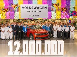 Volkswagen de México produce su unidad 12 millones