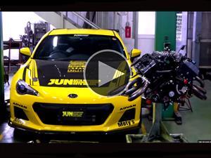 Subaru BRZ con motor V8 de 362 hp, una transformación estilo Doctor Frankenstein
