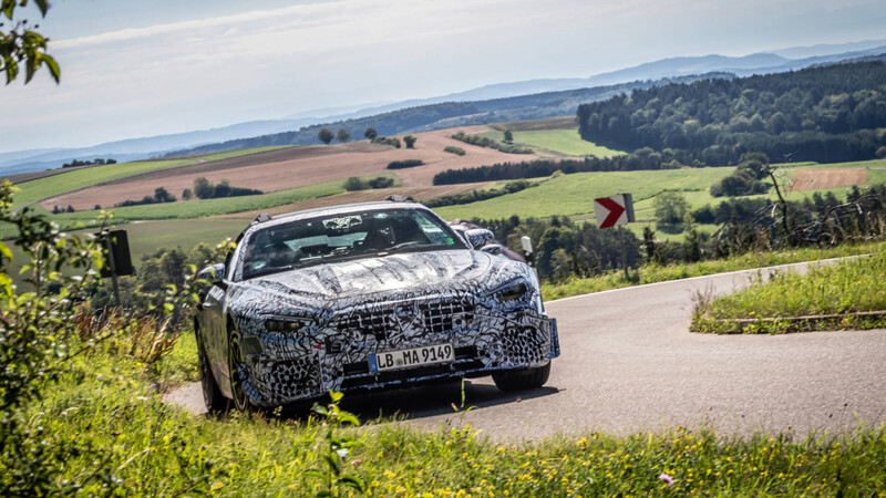 Mercedes-Benz ya prepara una nueva generación  de SL para 2021