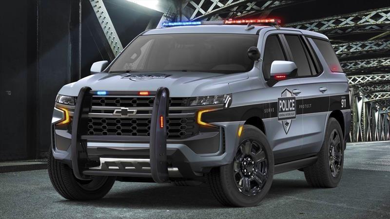 Chevrolet Tahoe Police Pursuit Vehicle 2021, la nueva generación de patrullas