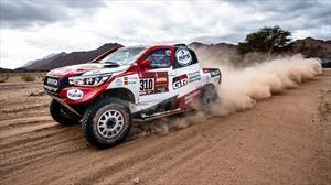 Dakar 2020, Fernando Alonso concluye la octava etapa en el segundo puesto