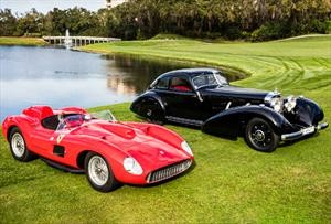 Un Ferrari y un Mercedes-Benz triunfan en Amelia Island