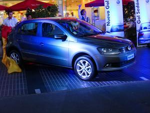 Nuevos Volkswagen Gol y Gol Sedán 2013 debutan en Chile