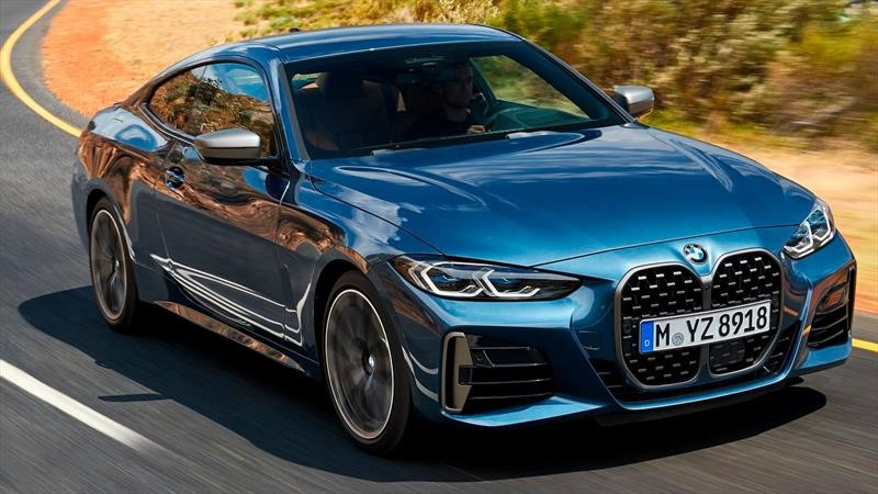 BMW Serie 4 Coupé 2021, ¿Y esa parrillota? Es para intimidarte mejor