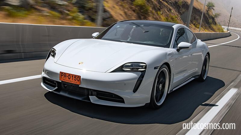 Probamos el Porsche Taycan Turbo 2021