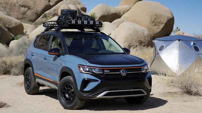 Volkswagen Taos Basecamp Concept, lista para el off road