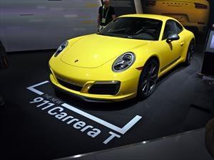 Porsche 911 Carrera T 2018, regreso a los principios básicos