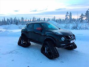 Nissan Juke Nismo RSnow para divertirse en la nieve