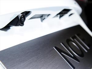 Nissan desarrolla una cámara de retroceso autolimpiante