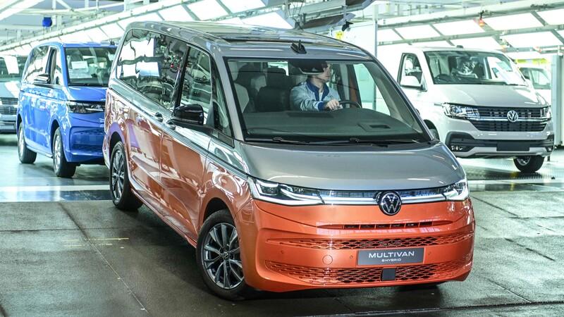 Volkswagen ya fabrica a la T7, sucesora de la Kombi