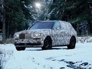 Rolls-Royce Cullinan 2019 se aproxima a su debut