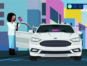 Lyft y Ford tendrán carros autónomos