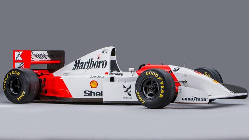 Los autos de F1 clásicos más caros jamás subastados