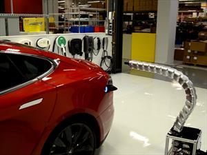 Este es el cargador más cool para autos eléctricos