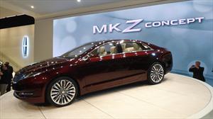 Lincoln MKZ Concept es develado en el Salón de Detroit 2012