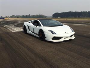 Lamborghini Gallardo rompe récord de velocidad en media milla