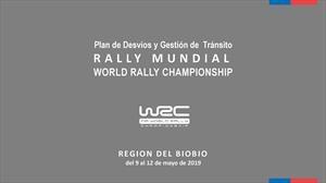 WRC en Chile: Conoce los cambios y medidas viales que se realizarán en Concepción