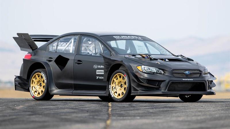 Travis Pastrana ya tiene su Subaru WRX STI para las Gymkhanas