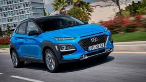 Hyundai Kona Hybrid 2020 se presenta