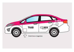 Los Taxis de la Cuidad de México serán color rosa