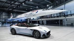 Aston Martin DBS Superleggera: homenajeando al Concorde