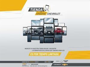 Tienda Chevrolet, una novedosa plataforma de ventas on-line