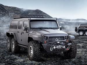 Jeep Wrangler 6X6 Tomahawk, exclusivo para China