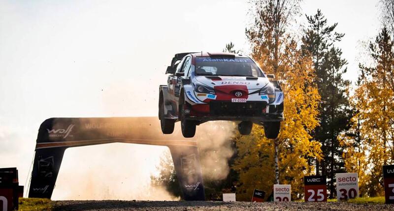 WRC 2021: Elfyn Evans gana en Finlandia y sueña