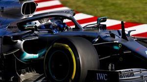 F1 GP de Japón 2019: Festejo de Valtteri Bottas y Título de Mercedes