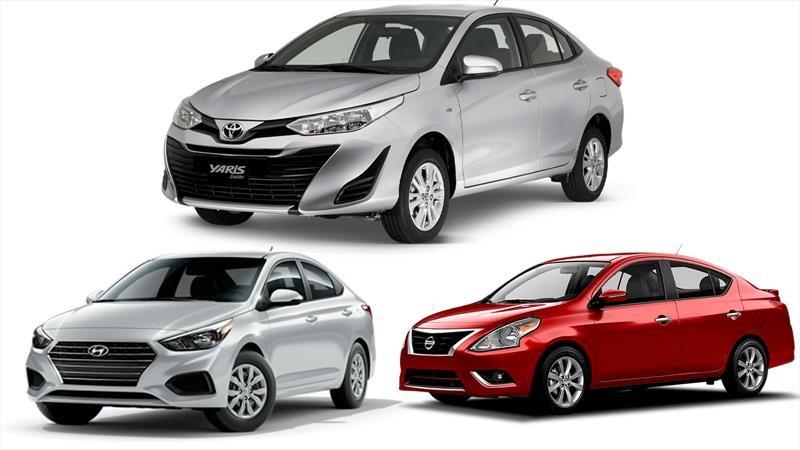 Toyota Yaris, Nissan Versa y Hyundai Accent son los sedanes pequeños más vendidos del mundo