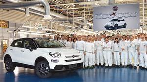 FIAT alcanza 500,000 unidades producidas del 500X