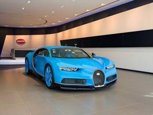 Bugatti abrió un mega-concesionario en Dubái