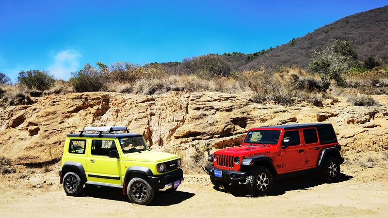 Suzuki Jimny vs Jeep Wrangler ¿Puede el pequeño japonés seguirle el paso del rey de los 4x4?