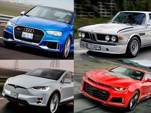 Los mejores 12 carros que manejamos en 2017