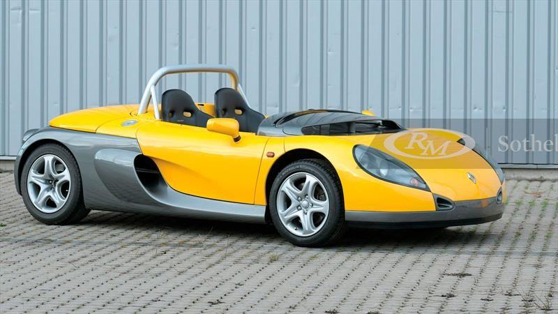 A subasta un radical y magnífico Renault Sport Spider 1996