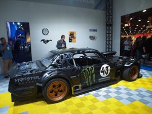 The Hoonicorn, el Ford Mustang 1965 de Ken Block es demoledor
