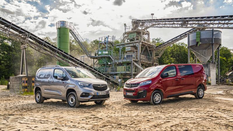 Opel lanza versión 4x4 de sus furgones compactos