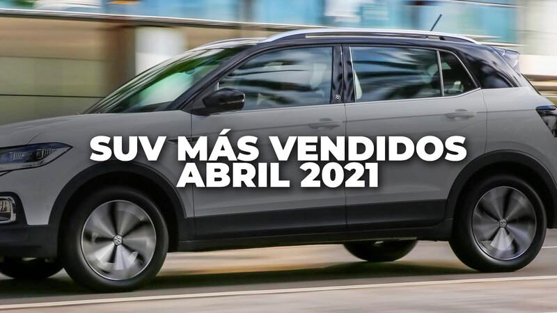SUV más vendidos en Colombia en abril de 2021