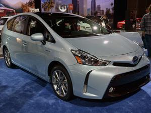 Toyota Prius V, nueva cara híbrida