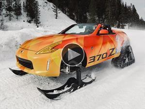 Video: Nissan 370Zki, el abominable deportivo de las nieves
