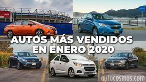 Los 10 autos más vendidos en enero 2020