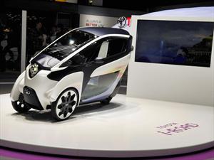 Toyota EV i-ROAD: Prototipo de tres ruedas
