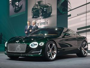 Bentley EXP 10 Speed 6 Concept hace su debut