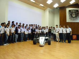 UM-515, el vehículo mexicano que competirá en la Fórmula SAE 2014