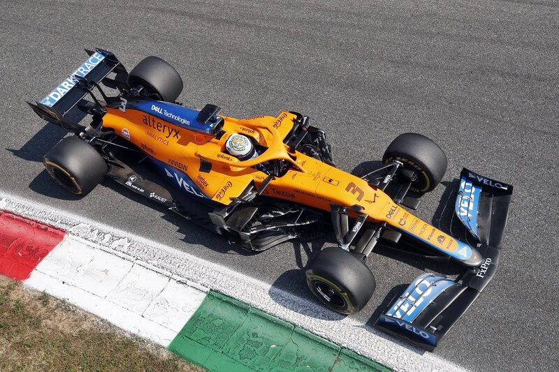 F1 GP de Italia 2021: Ricciardo le entregó la gloria a McLaren