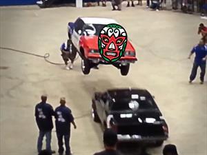 Los mexicanos acaban de inventar la lucha libre automotriz