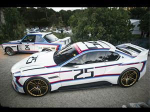BMW 3.0 CSL Hommage R, el auto de competencias de ensueño