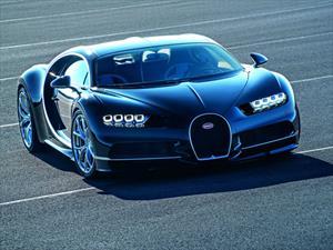 Bugatti Chiron, el sucesor del Veyron tiene 1,500 hp