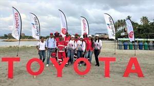 Toyota y su compromiso con las playas del país